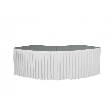 Partial table skirt ext. arch XLmoon