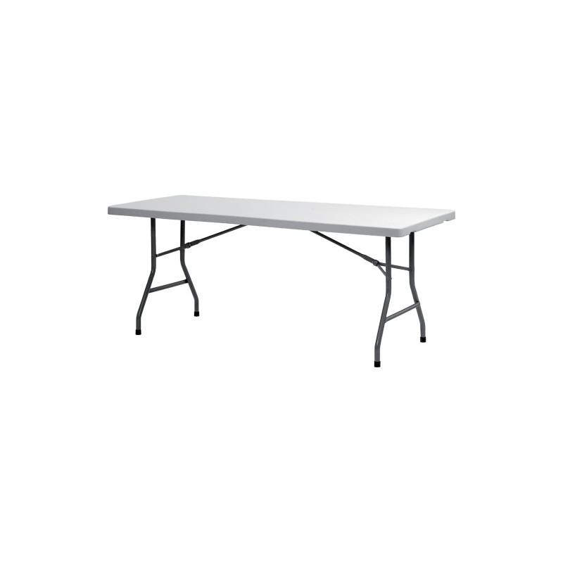 xl180 table de reception rectangulaire pliante 183x76 cm. Black Bedroom Furniture Sets. Home Design Ideas