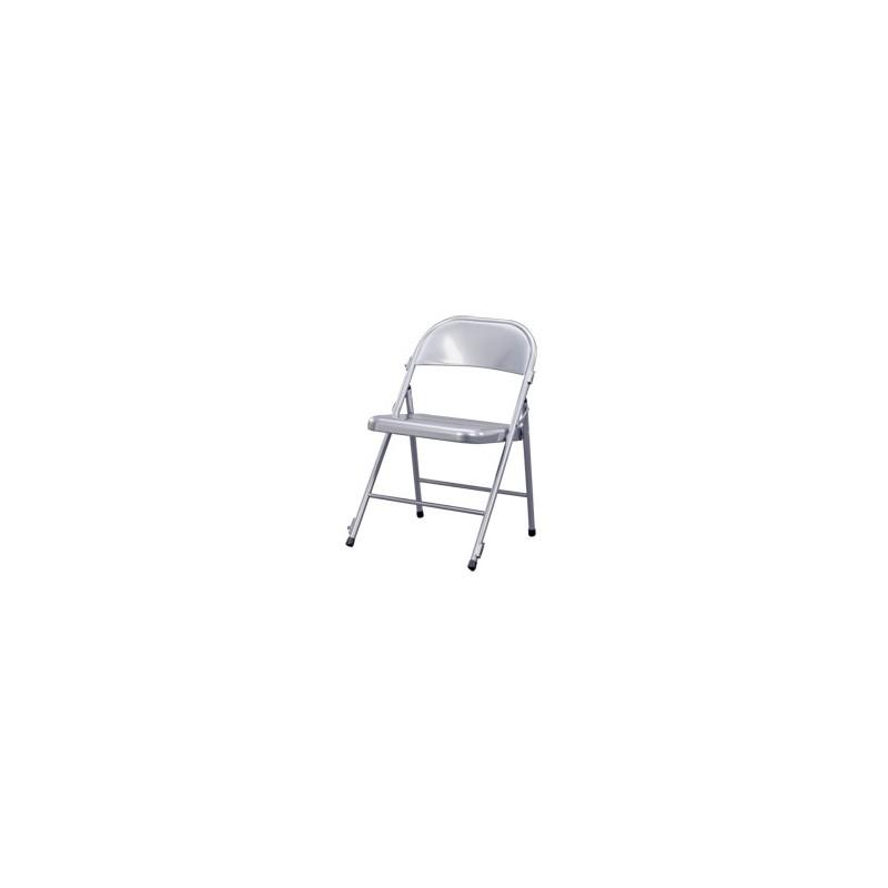 Boston kchair silla plegable met lica para eventos con sistema de uni n - Faldones para sillas ...