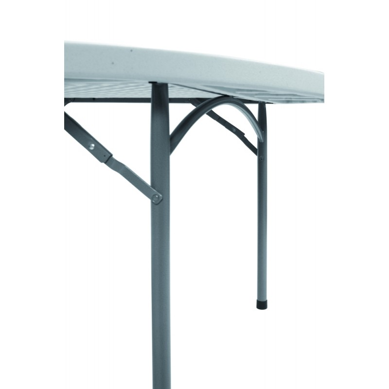 planet120 table de reception ronde pliante 120 cm. Black Bedroom Furniture Sets. Home Design Ideas