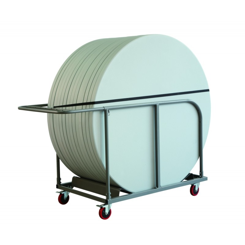 planettrolley table cart for round banquet tables